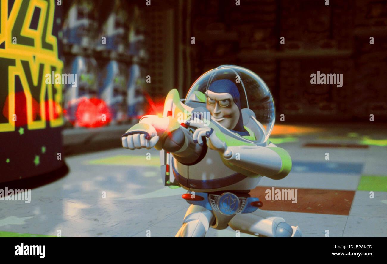 Toy story of terror 1 2 3 buzz lightyear of star command for sale - Buzz Lightyear Toy Story 2 1999 Stock Image