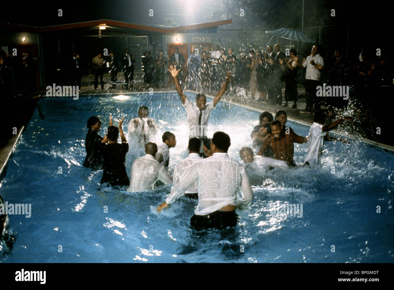 swimming pool scene crazy in alabama 1999