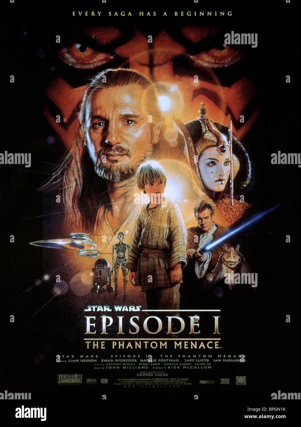 Phantom Menace Poster