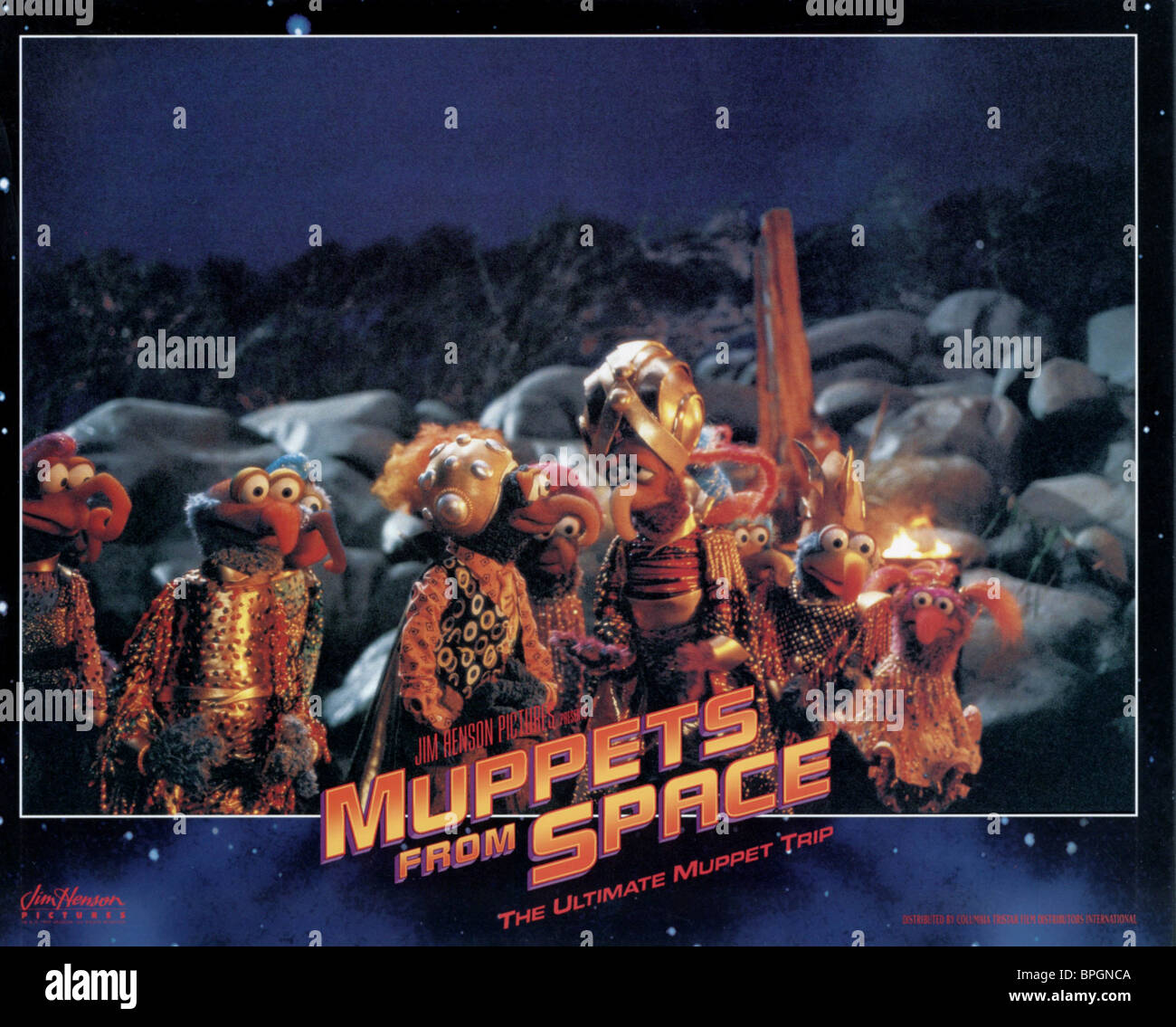 gonzo with his long lost family muppets from space 1999