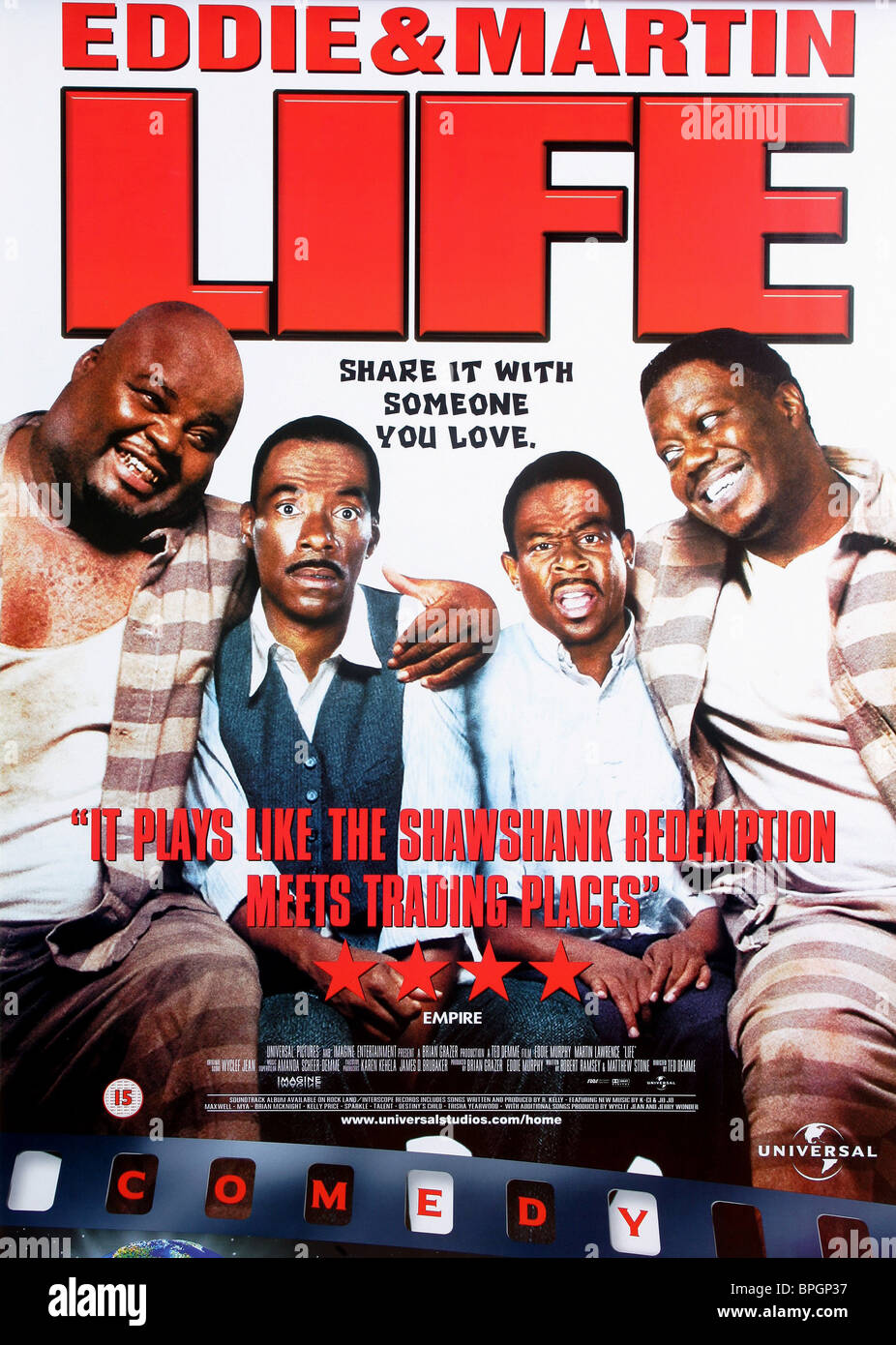 Life 1999 BluRay 480p 300MB ( Hindi – English ) MKV