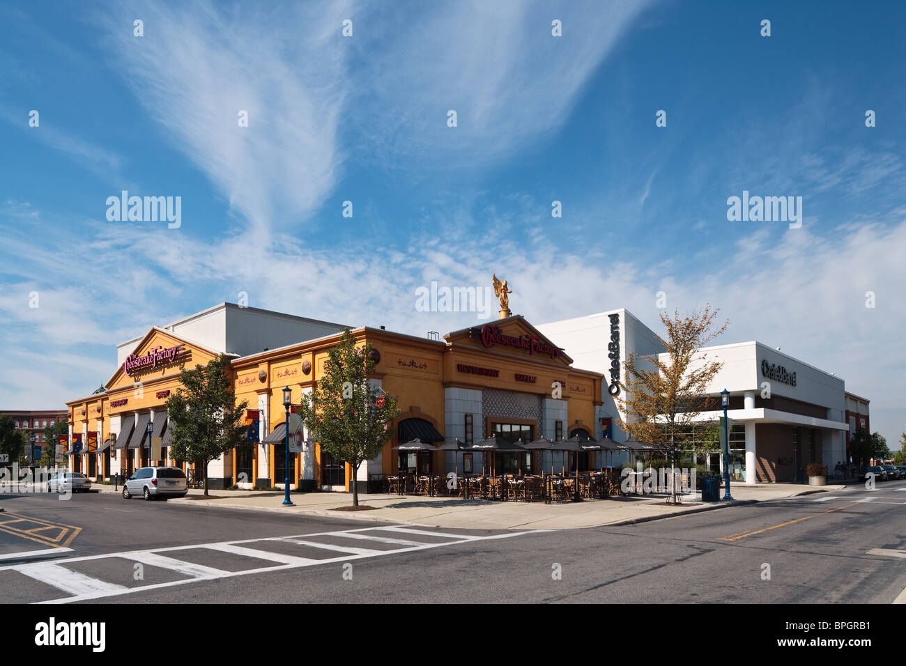 The Cheesecake Factory At Easton Town Center In Columbus Ohio Stock Image