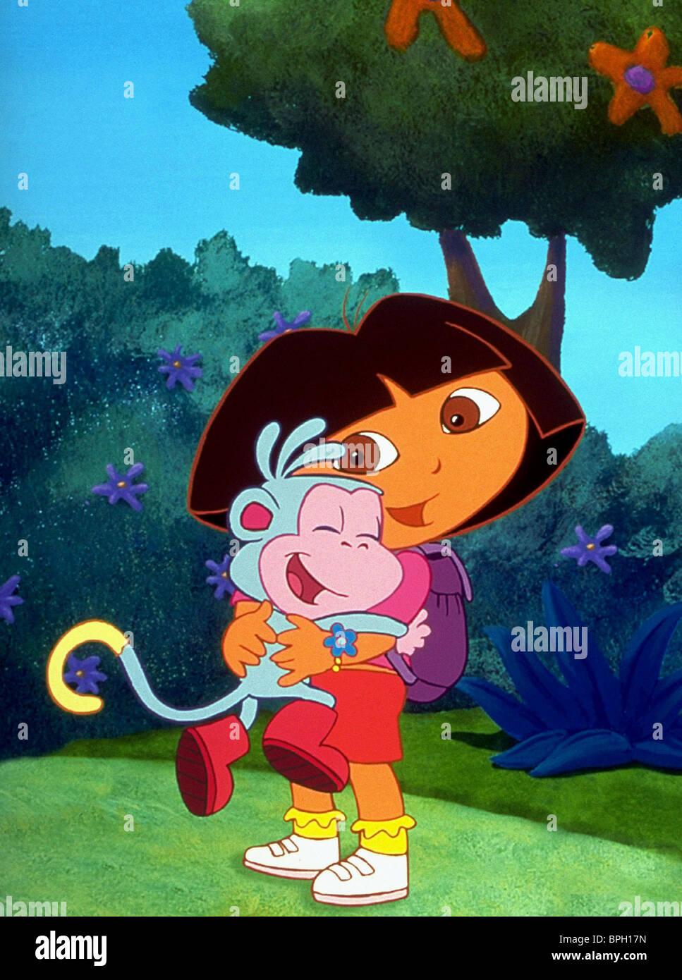 dora u0026 boots the monkey dora the explorer 2000 stock photo