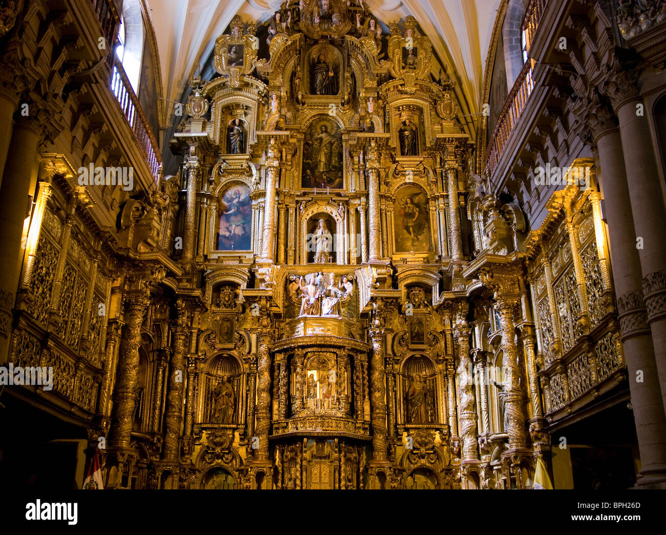 Peru. Cusco. Church of La Compañia de Jesus (17th century ...