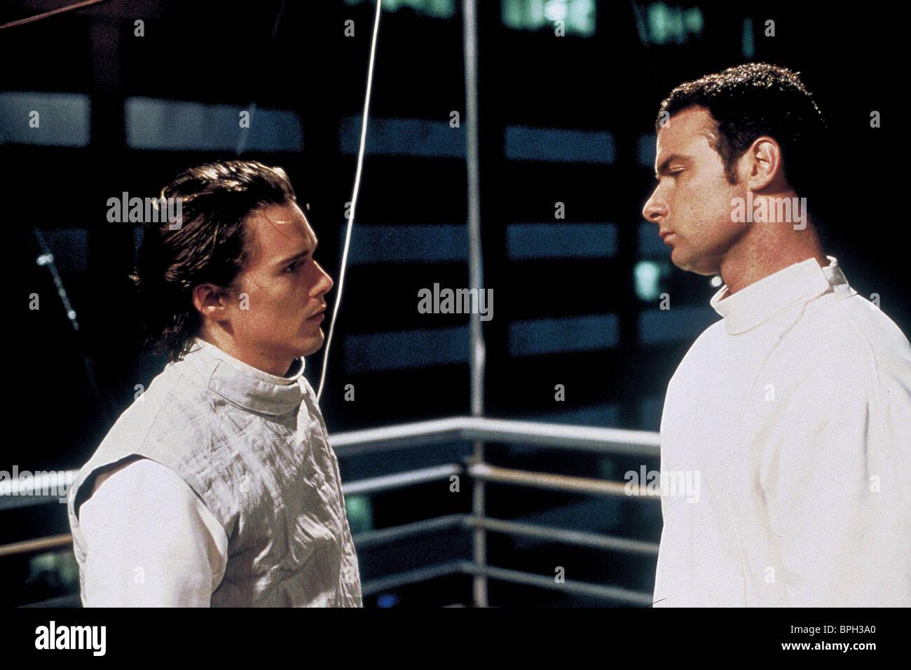 ETHAN HAWKE & LIEV SCHREIBER HAMLET (2000 Stock Photo ...