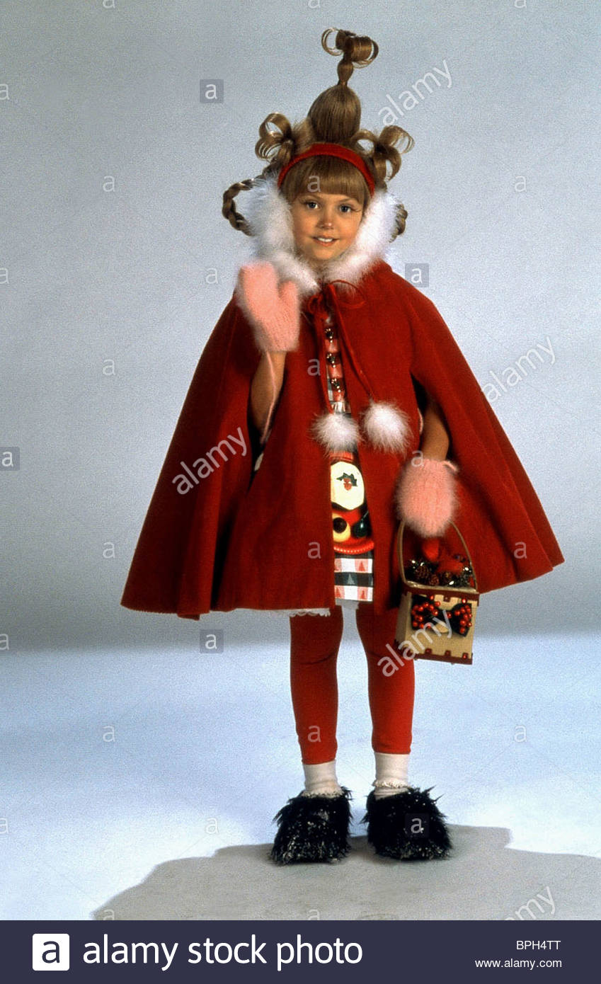 TAYLOR MOMSEN HOW THE GRINCH STOLE CHRISTMAS (2000 Stock Photo ...