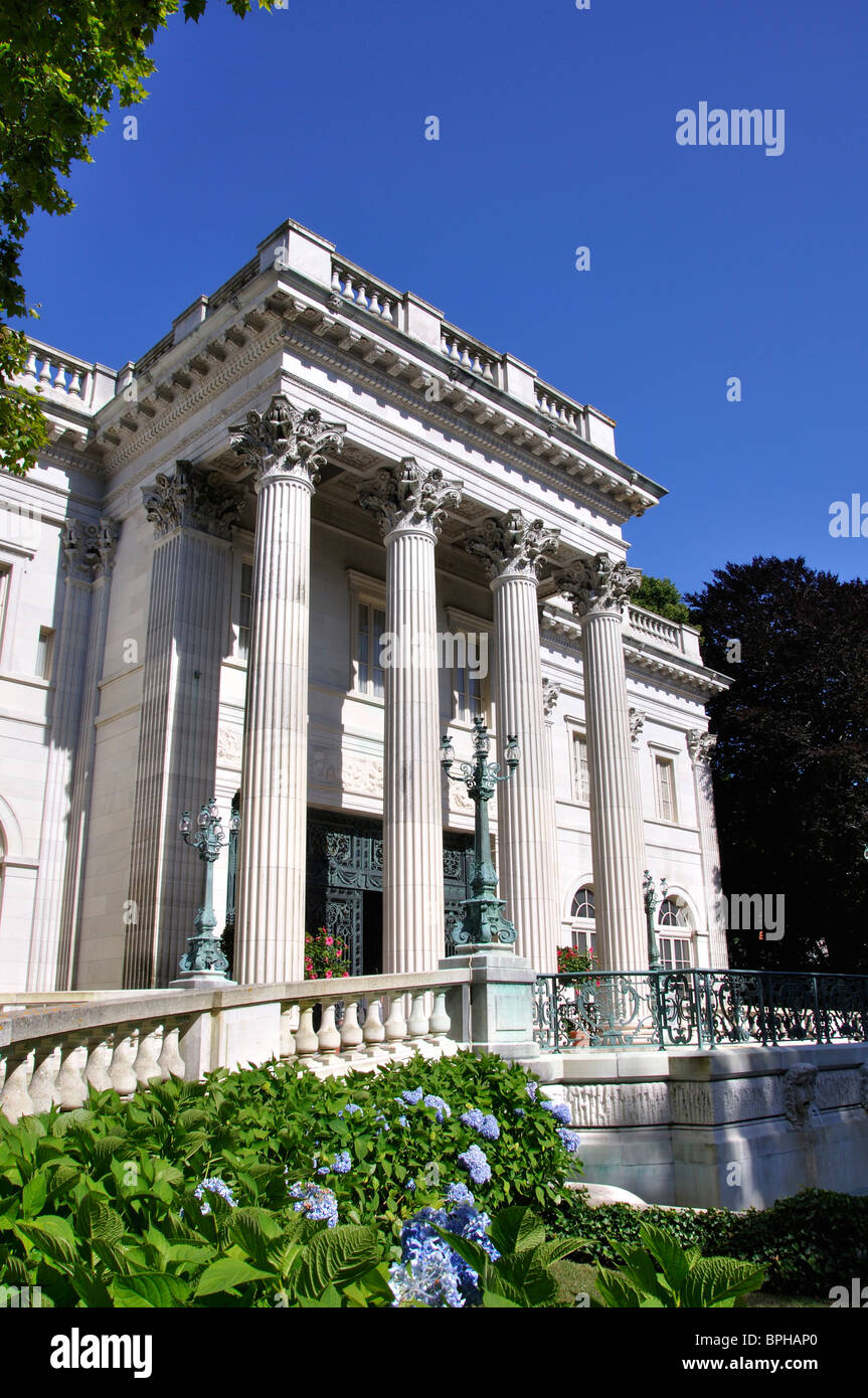 Marble house vanderbilt mansion newport rhode island usa stock image