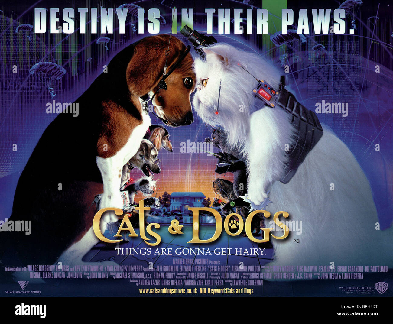 Cats And Dogs  Full Movie Online Free