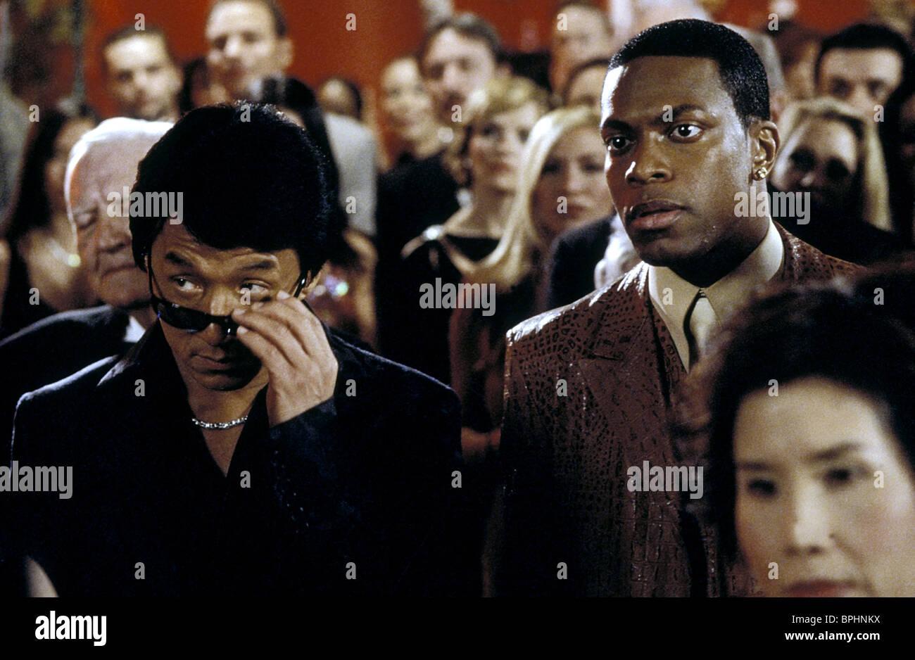 Jackie Chan And Chris Tucker Rush Hour 2 Jackie chan & chris tucker rush hour 2 (2001) stock photo