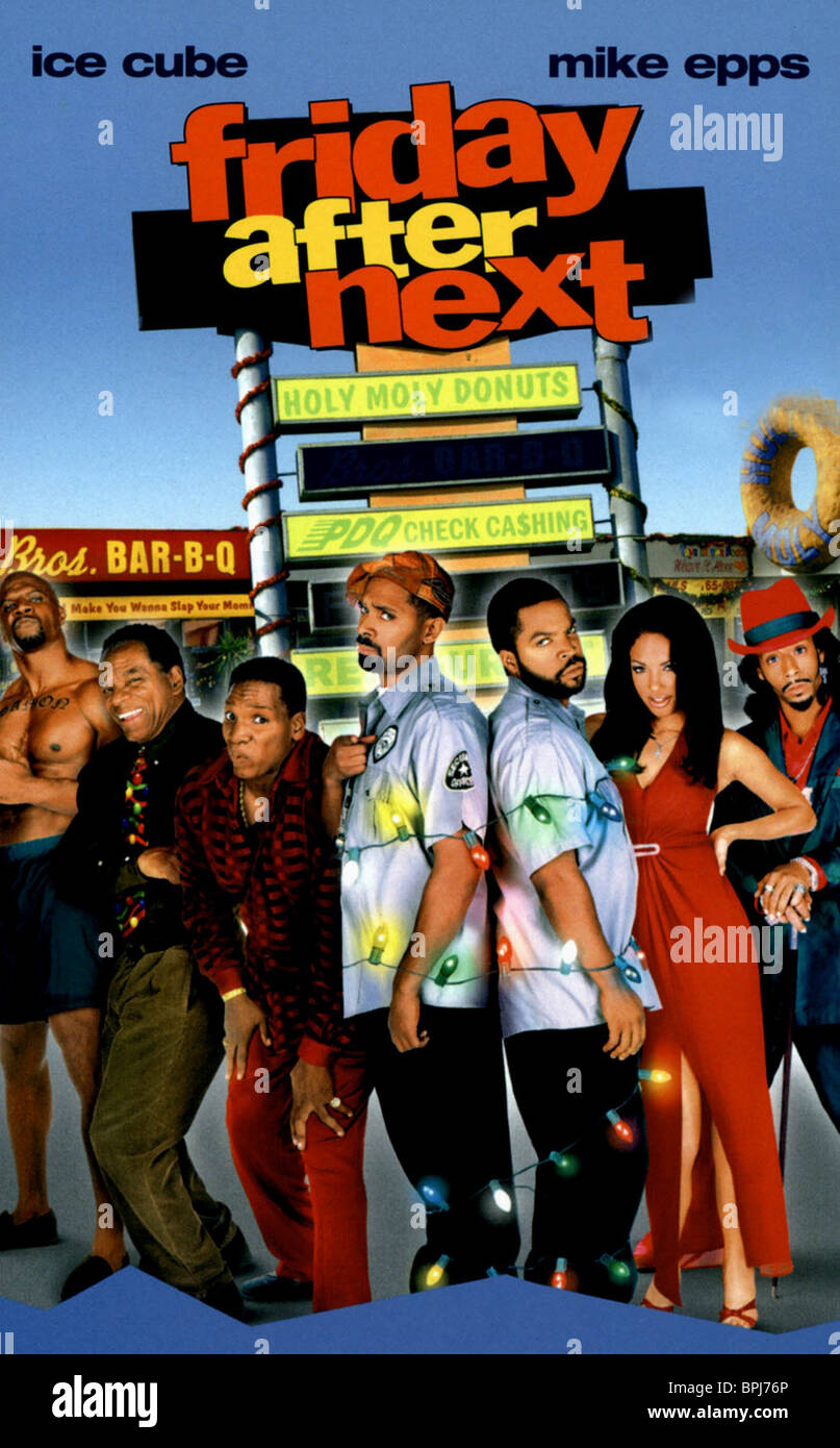 FILM POSTER FRIDAY AFTER NEXT (2002 Stock Photo, Royalty ...