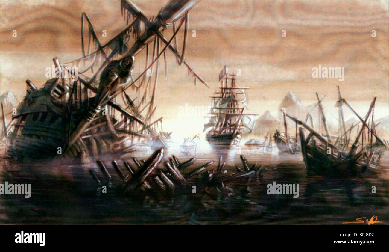 ship graveyard pirates of the caribbean the curse of the