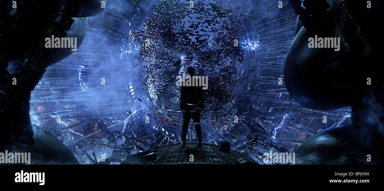 Keanu Reeves Deus Ex Machina The Matrix Revolutions
