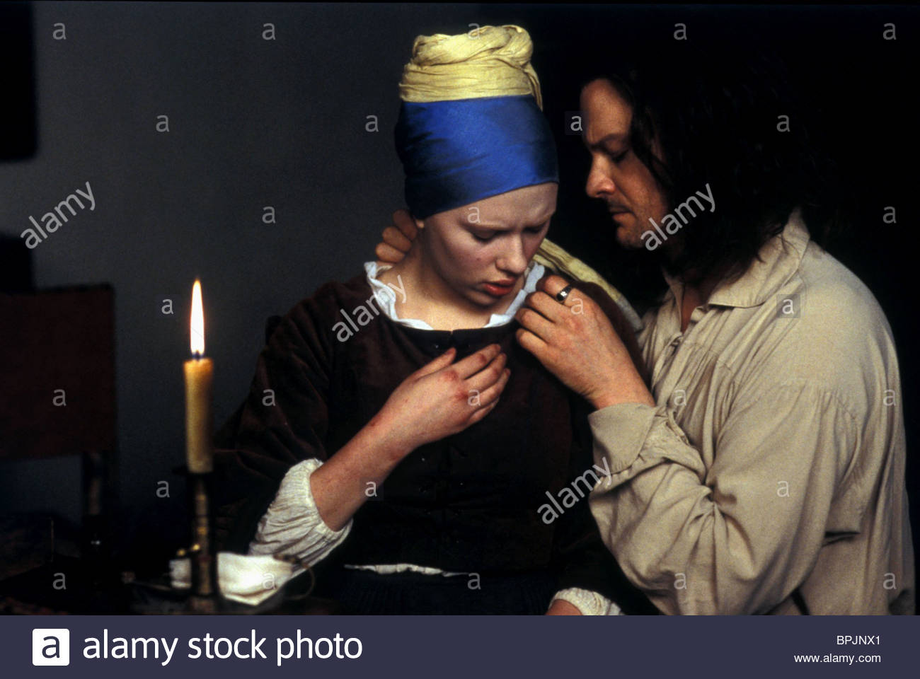 scarlett johansson amp colin firth girl with a pearl earring