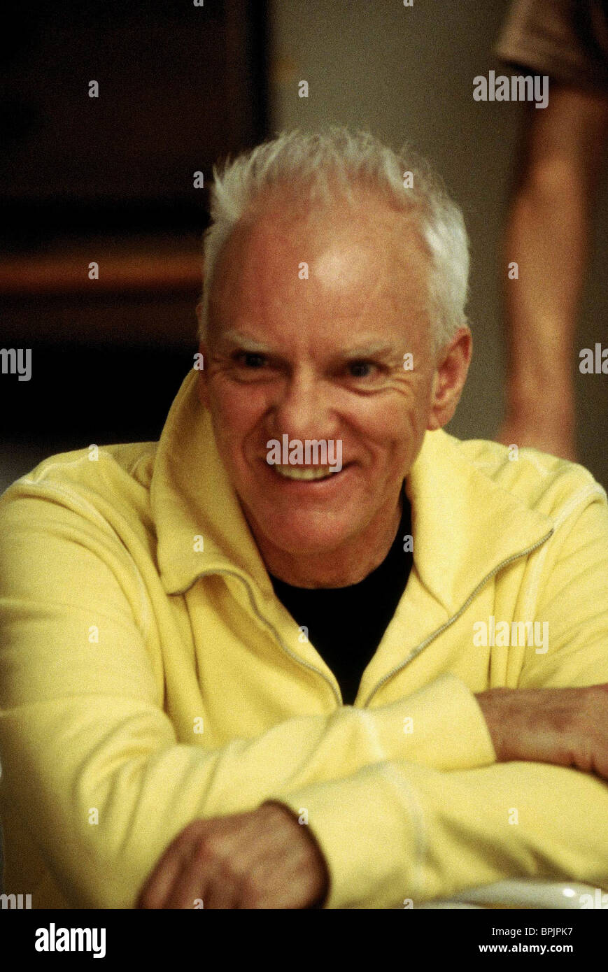 Malcolm mcdowell the company 2003 stock image