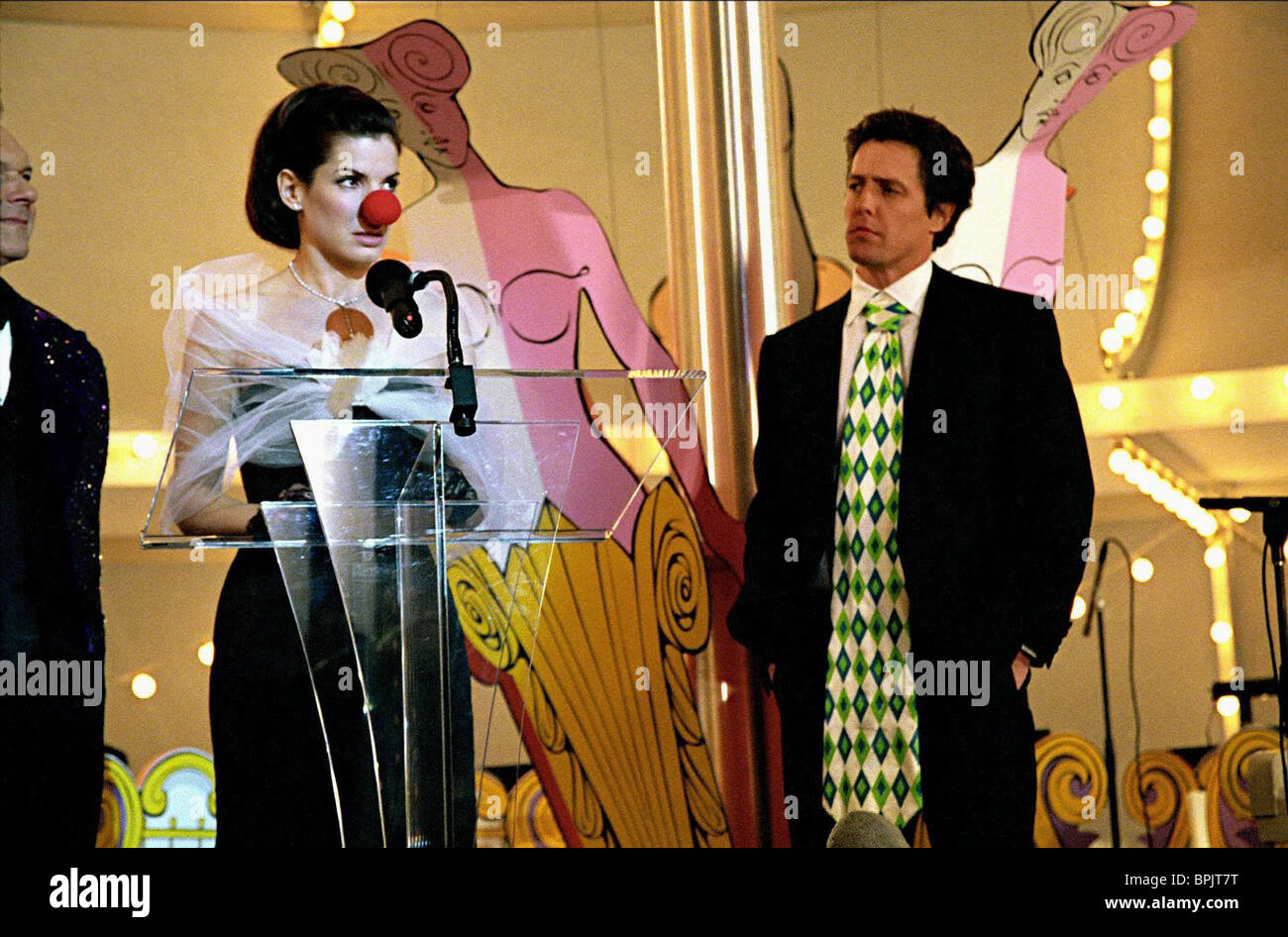 sandra bullock hugh grant two weeks notice 2002 stock photo sandra bullock hugh grant two weeks notice 2002
