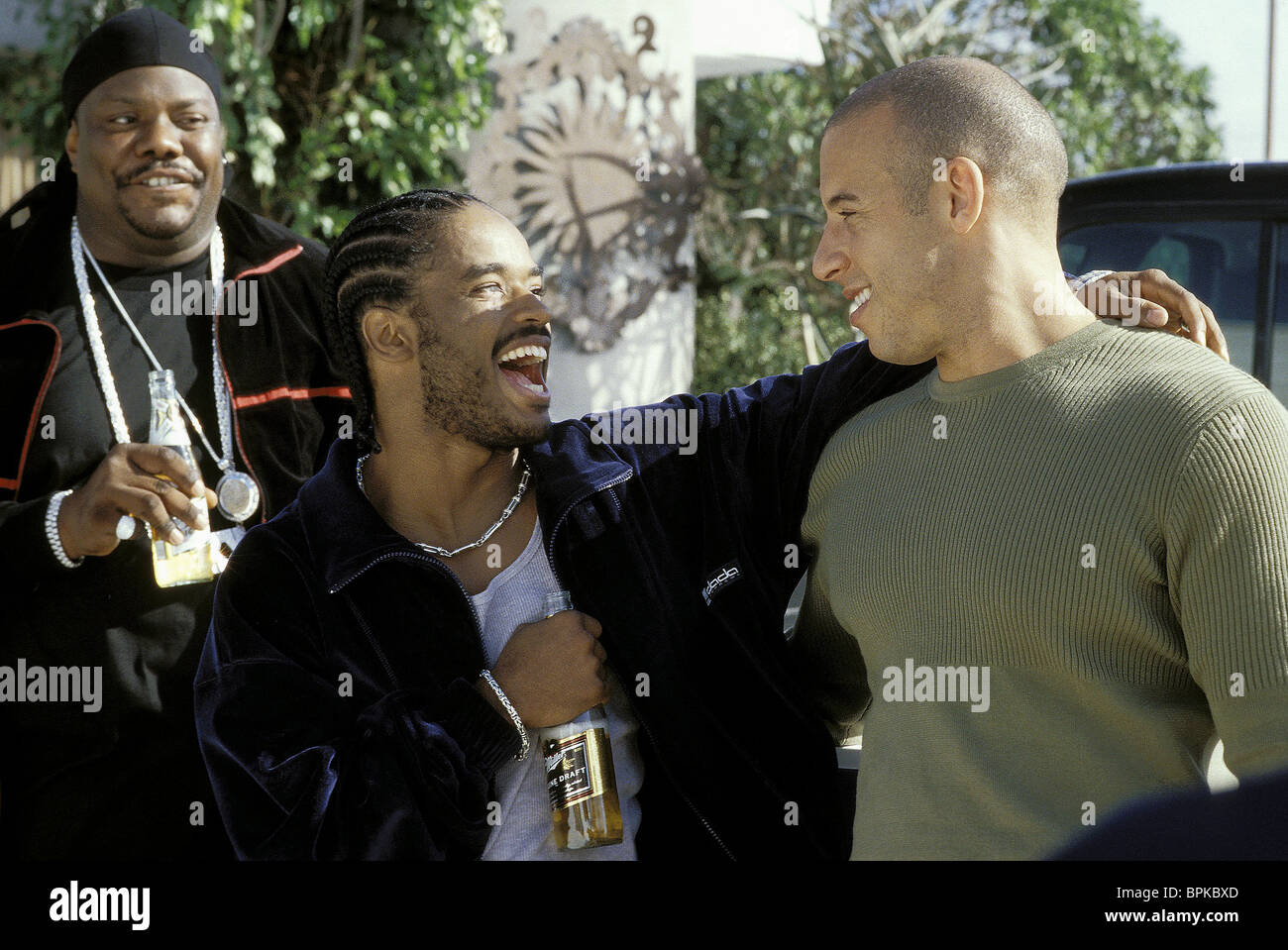 LARENZ TATE & VIN DIESEL A MAN APART (2003 Stock Photo ...