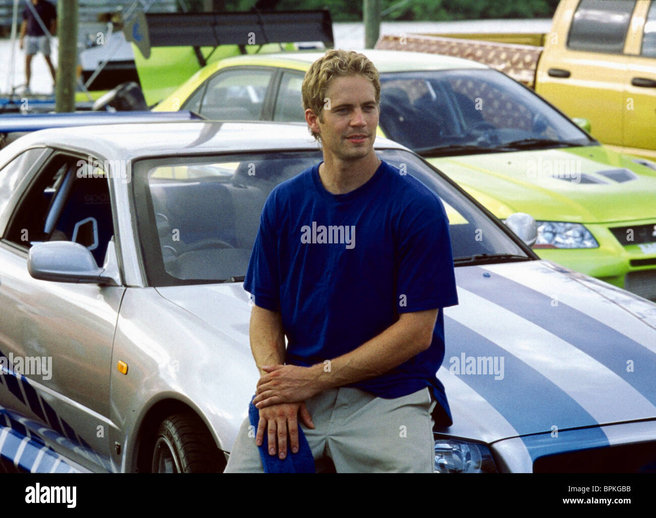 paul walker 2 fast 2 furious the fast and the furious 2 2003 stock photo royalty free image. Black Bedroom Furniture Sets. Home Design Ideas