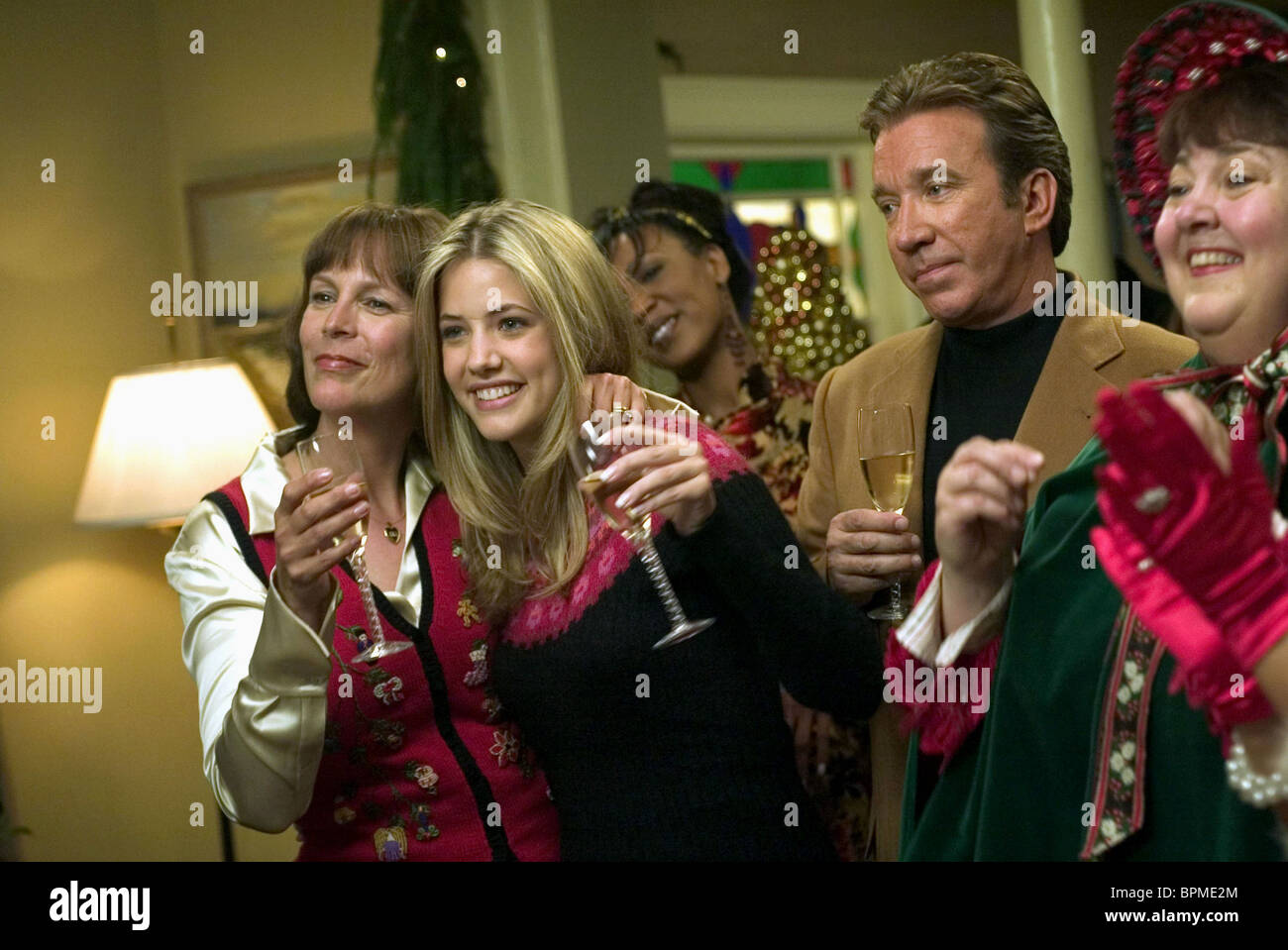 JAMIE LEE CURTIS JULIE GONZALO & TIM ALLEN CHRISTMAS WITH THE ...