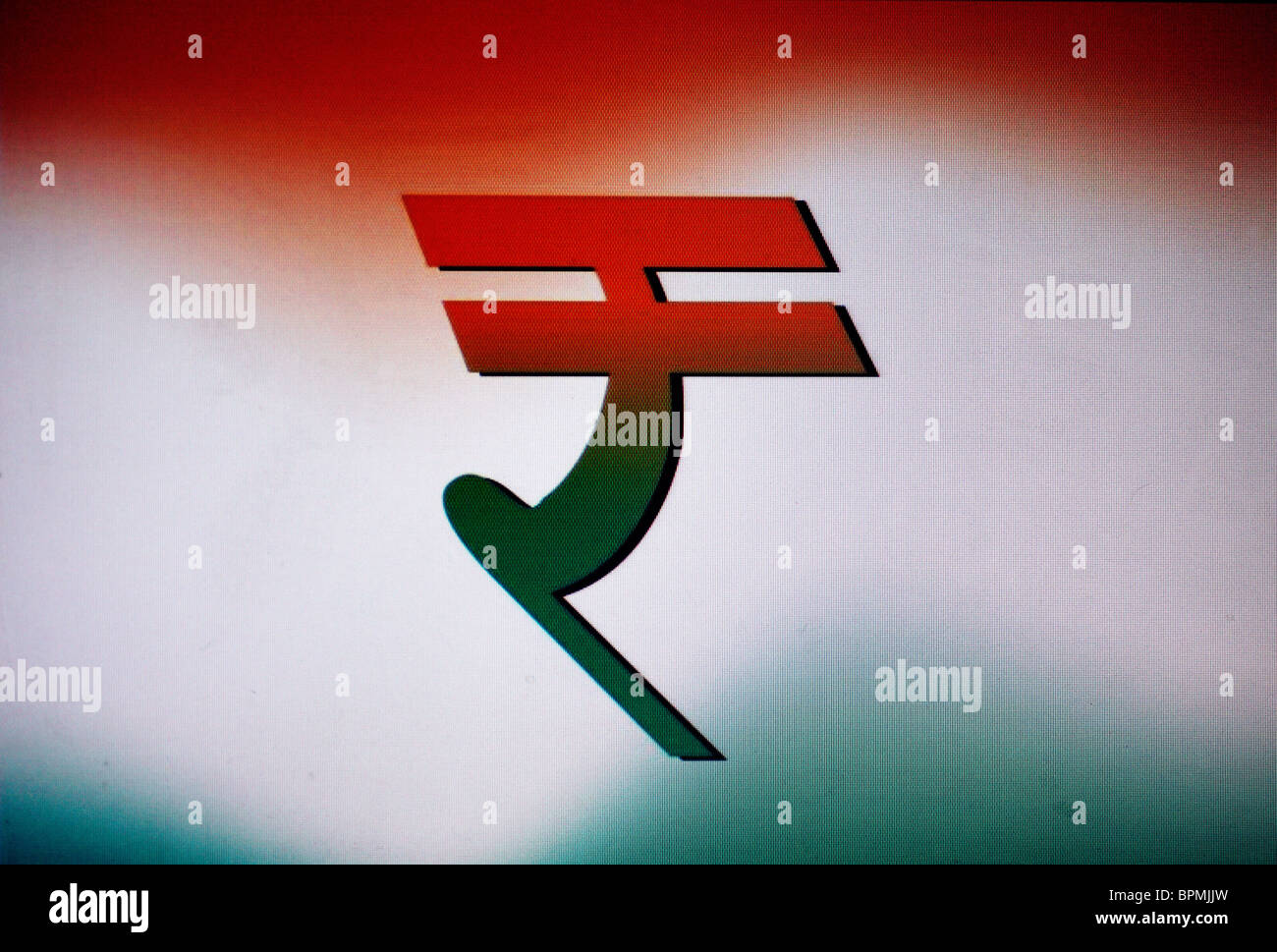 The new currency symbol for the indian rupee inr stock photo the new currency symbol for the indian rupee inr biocorpaavc Choice Image