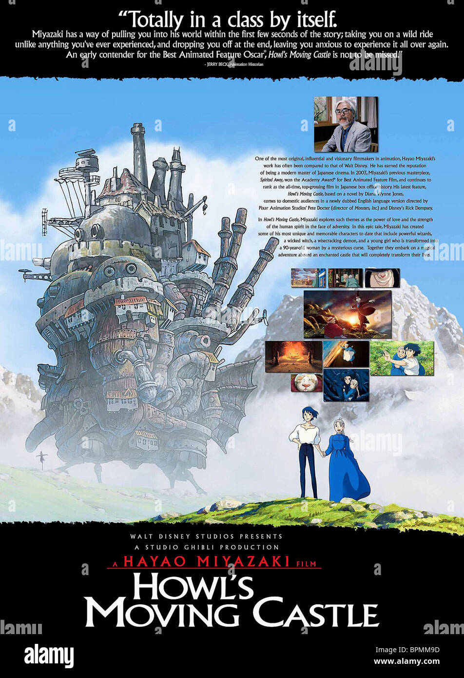MOVIE POSTER HOWLS MOVING CASTLE HAURU NO UGOKU SHIRO 2004
