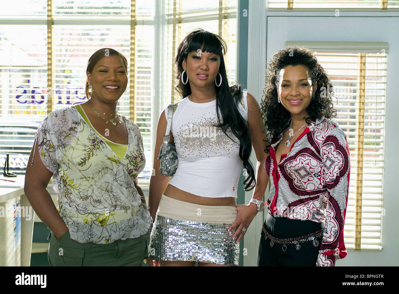 QUEEN LATIFAH KIMORA LEE LISARAYE BEAUTY SHOP 2005