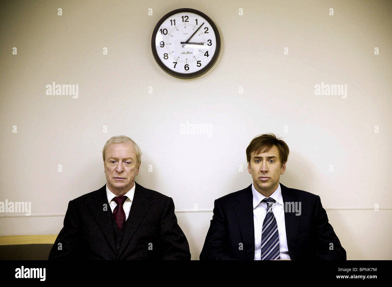 MICHAEL CAINE & NICOLAS CAGE THE WEATHER MAN 2005 Stock