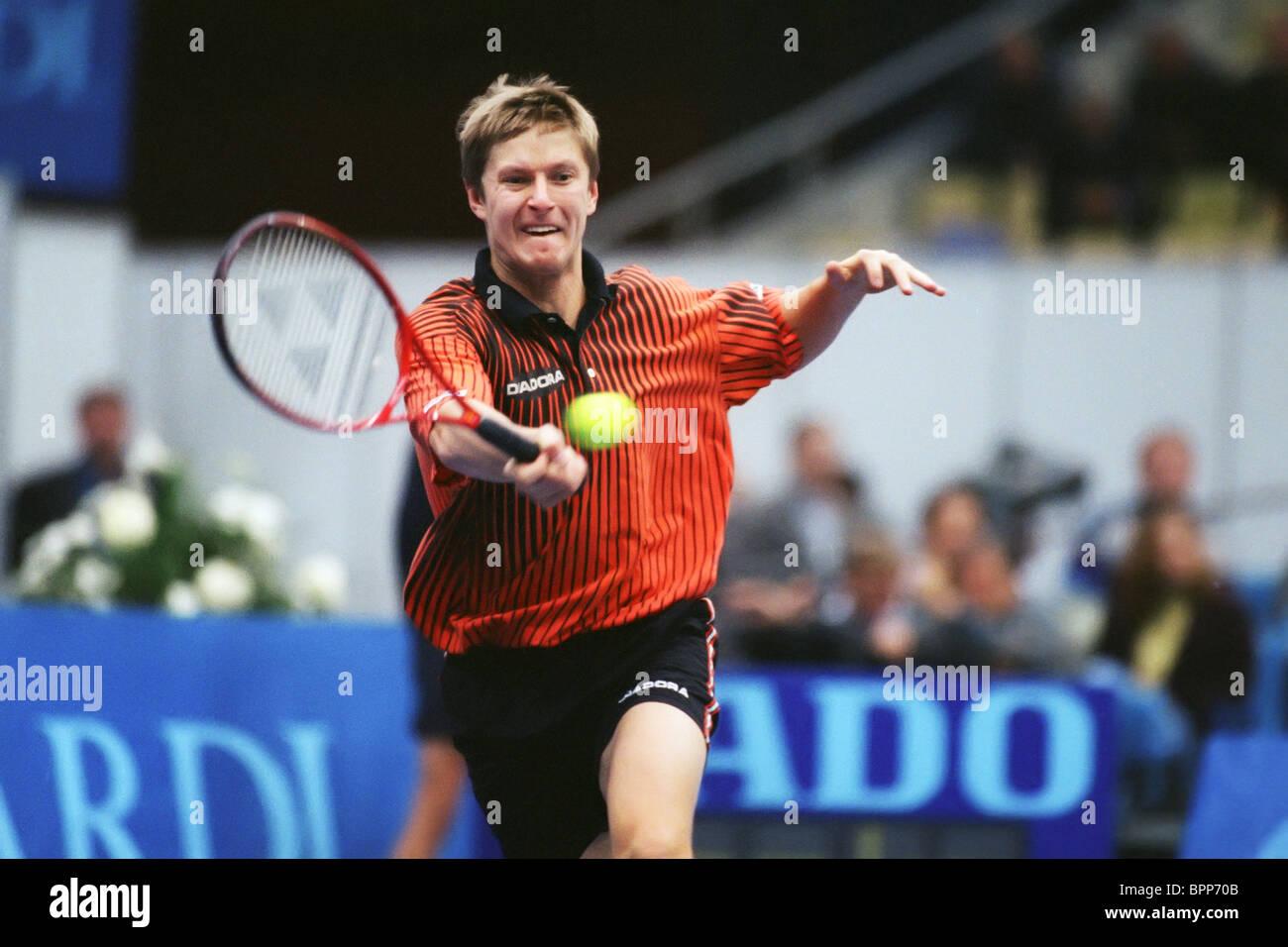 Yevgeny Kafelnikov 1997 Stock Royalty Free Image