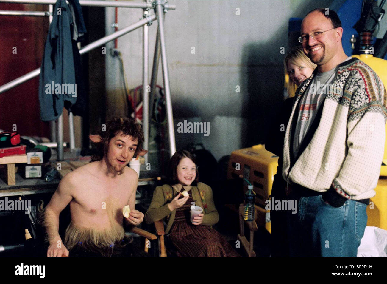 James Mcavoy Amp Georgie Henley The Chronicles Of Narnia