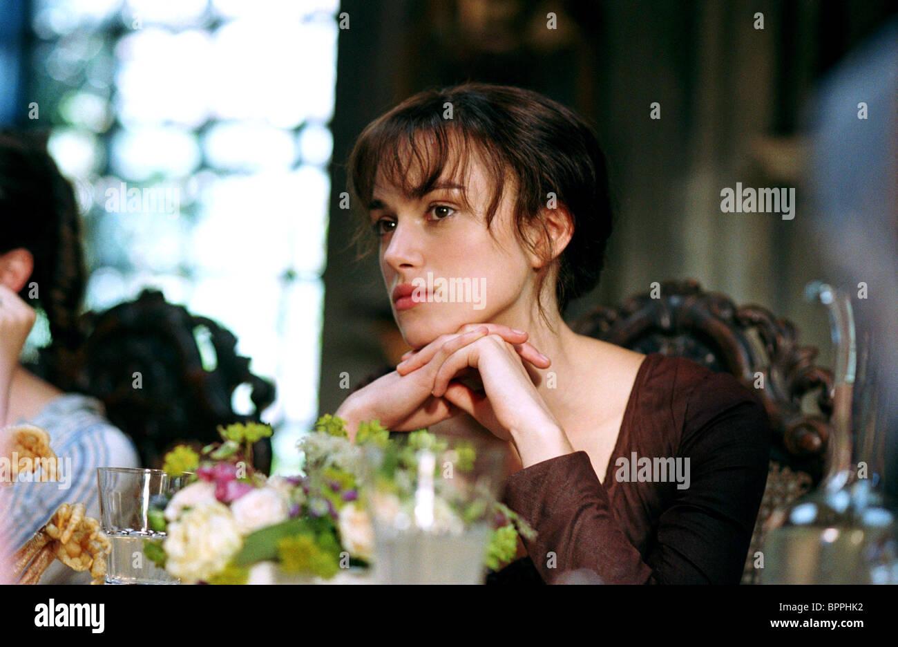 keira knightley pride and prejudice 2005 stock photo