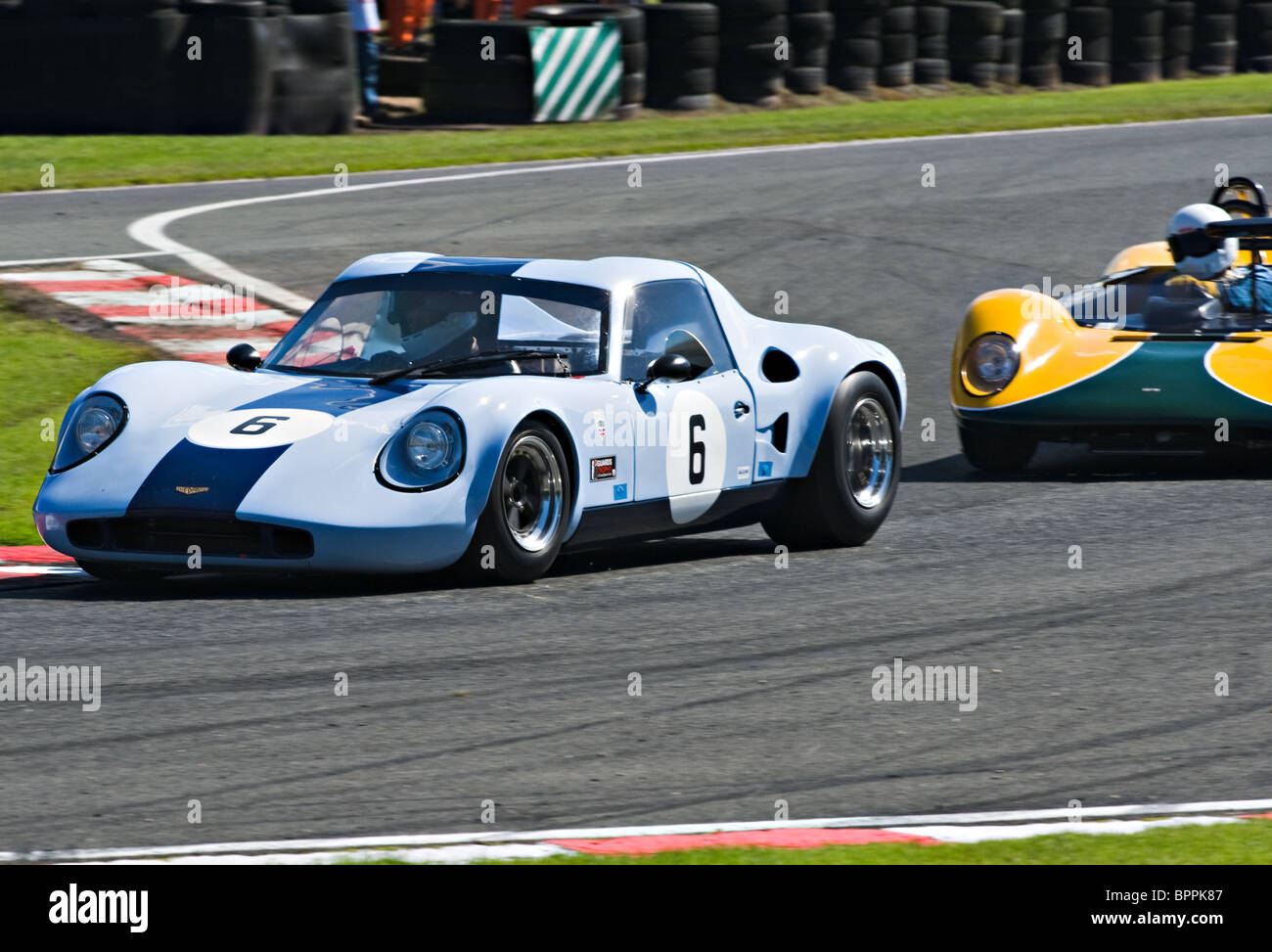 Chevron B6 and Lotus 23B Sports Race Cars in Guards Trophy Race at ...