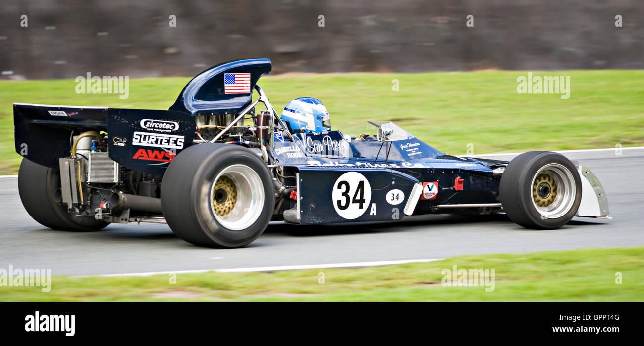 A Surtees Ts11 Race Car In The Derek Bell Trophy Race At Oulton