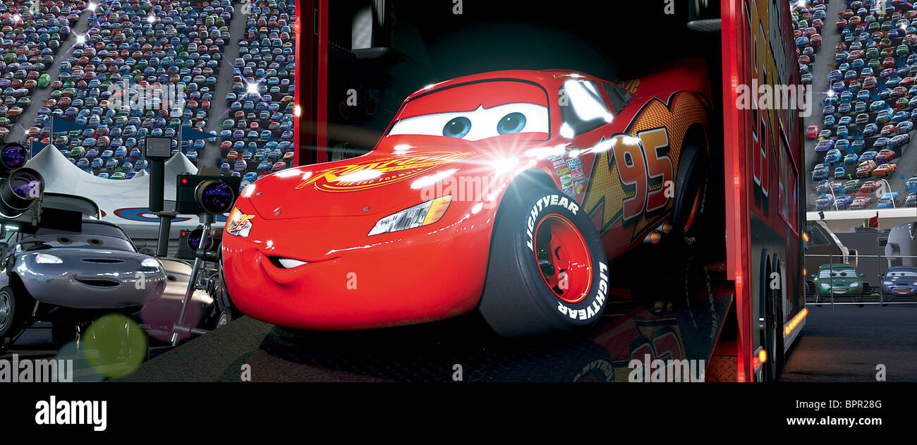 Lightning Mcqueen Cars Stock Photo Royalty Free Image
