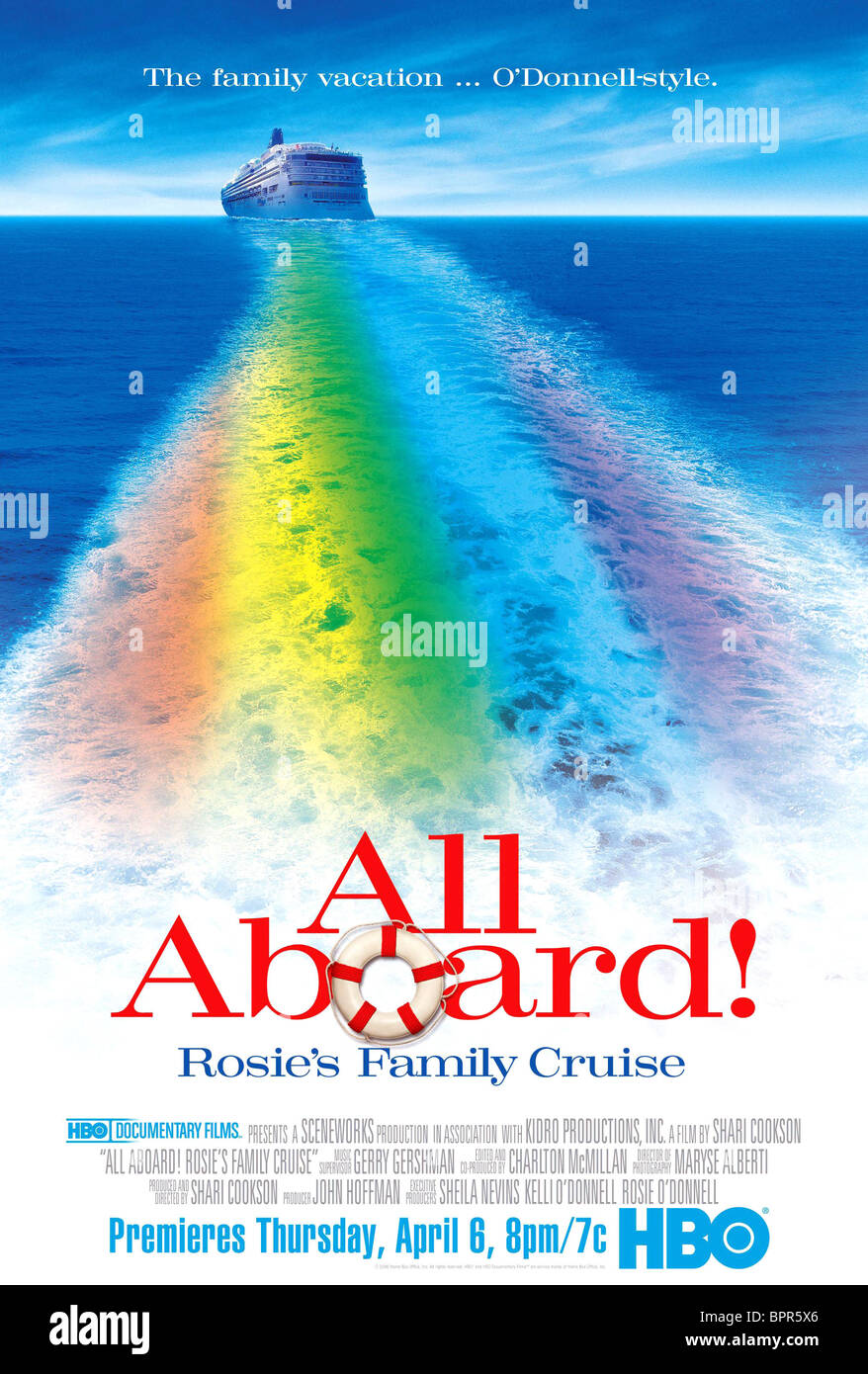 CRUISE SHIP MOVIE POSTER ALL ABOARD ROSIES FAMILY CRUISE - Cruise ship movie