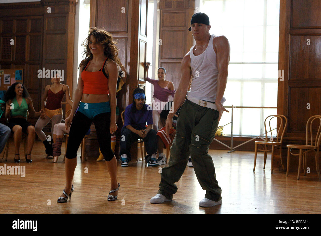 JENNA DEWAN & CHANNING TATUM STEP UP (2006 Stock Photo ...
