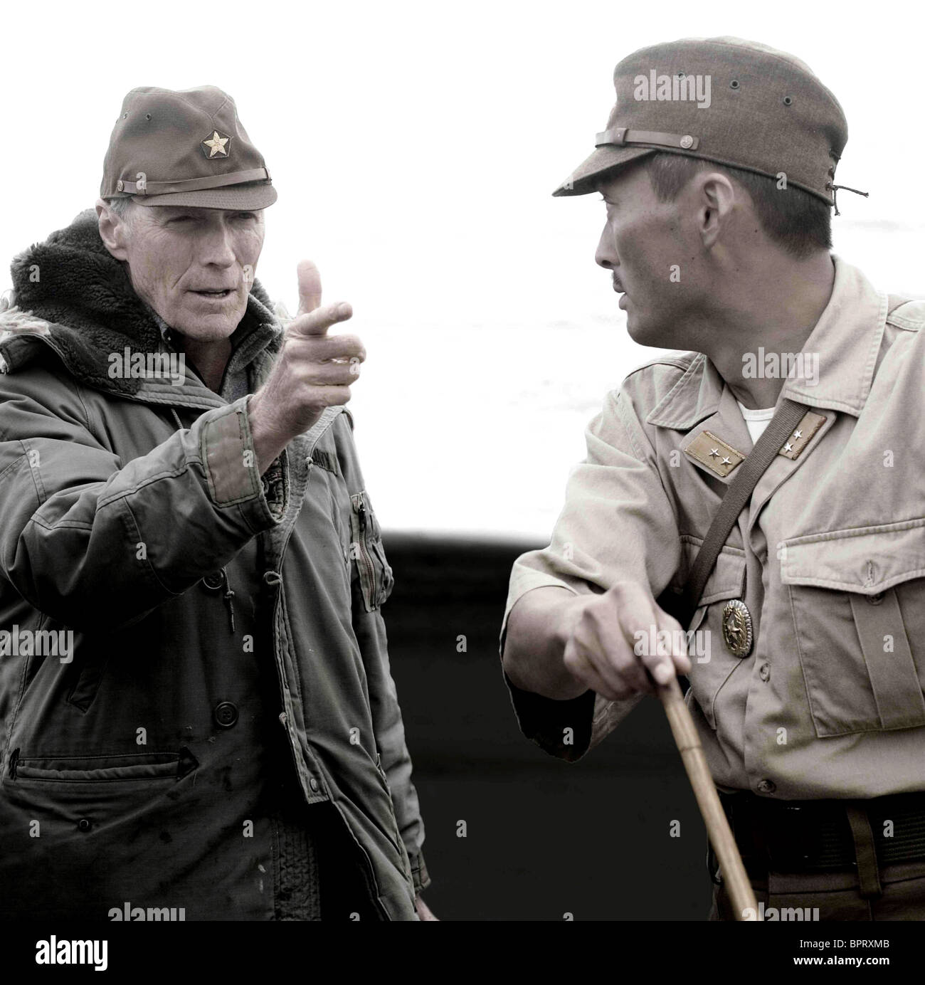 a critique of letters from iwo jima a film by clint eastwood 2007-5-5 flags of our fathers is the first of clint eastwood's diptych dealing with the battle of iwo jima (the second film, one which assumes a japanese point of view, is scheduled for a february 2007 release.