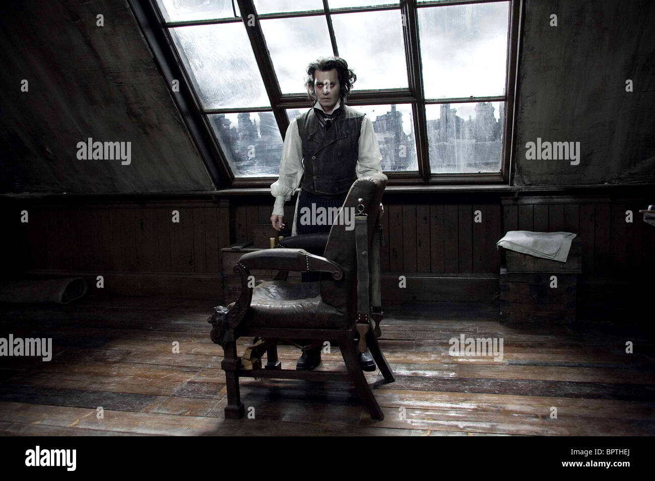the visual elements and style in sweeney todd the demon barber of fleet street a movie by tim burton As sweeney todd in sweeney todd: the demon barber of fleet street  style for instance, tim burton is  movie did include some burton-esque elements,.