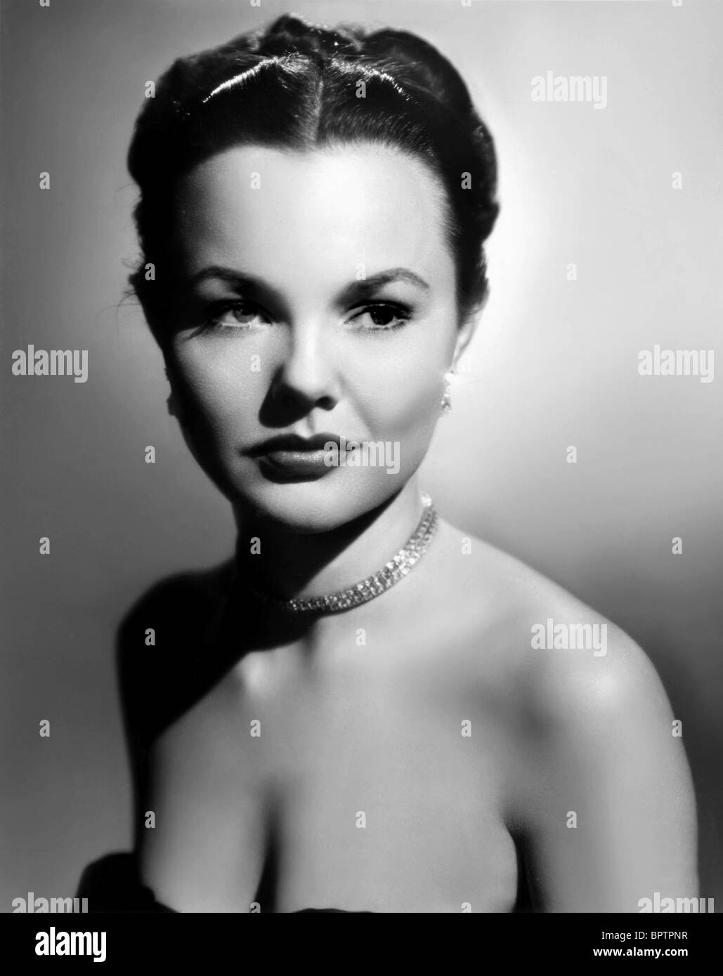 Wanda Hendrix Actress 1951 Stock Photo Royalty Free