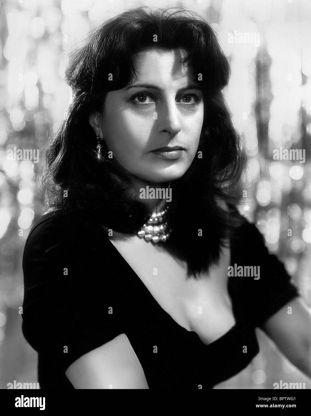 Favorito ANNA MAGNANI ACTRESS (1955 Stock Photo, Royalty Free Image  VC07