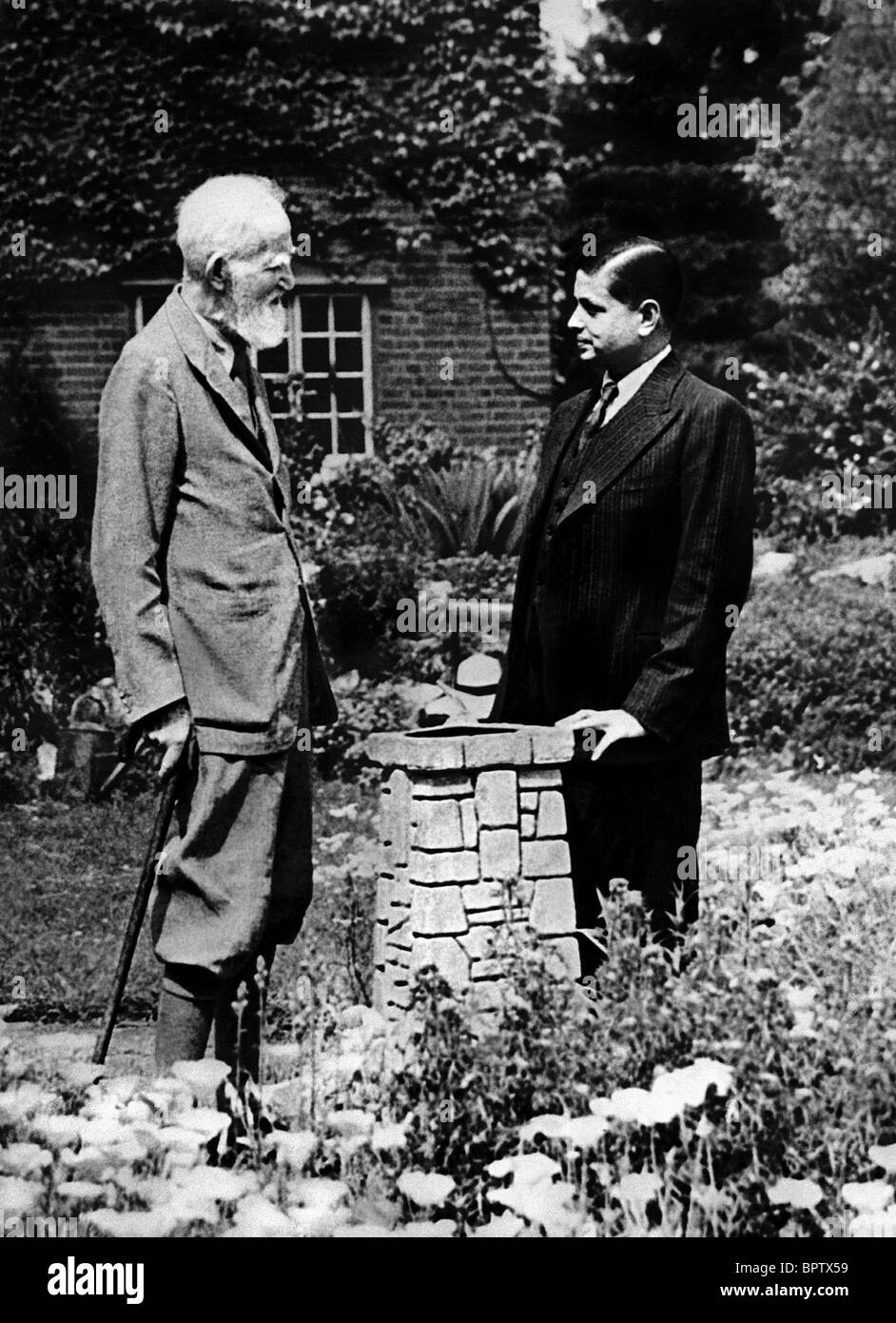 writer george bernard shaw stock photos writer george bernard george bernard shaw devadas gandhi writer 1946 stock image