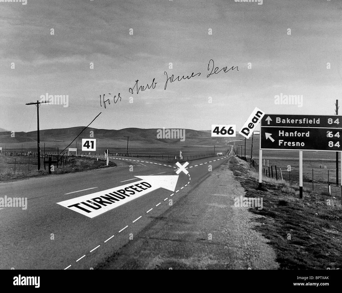 Scene Of James Dean Crash Scene Of James Dean S Car Crash
