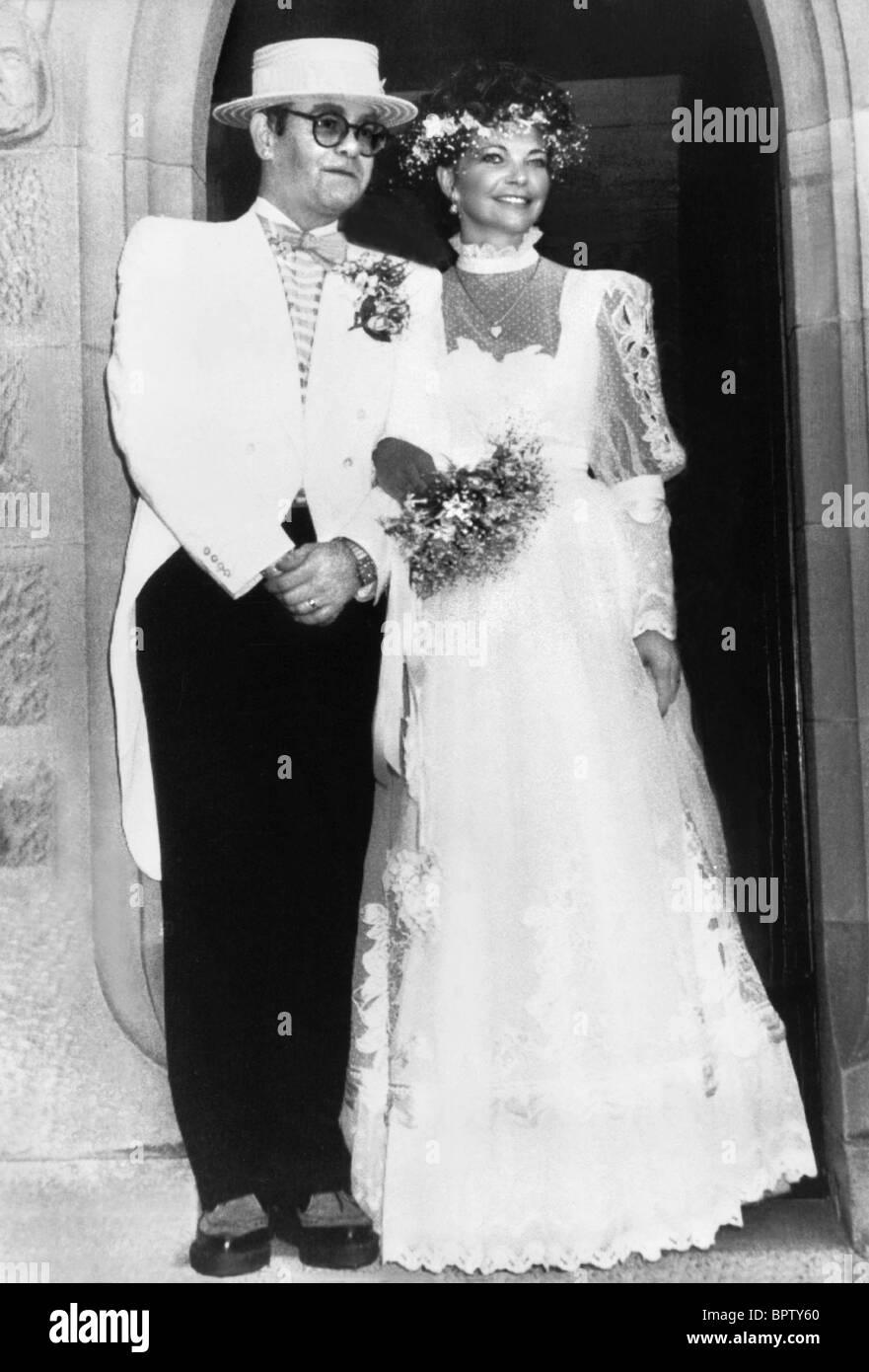 Elton John Amp Renate Blauel Hochzeit On Wedding Day 1984
