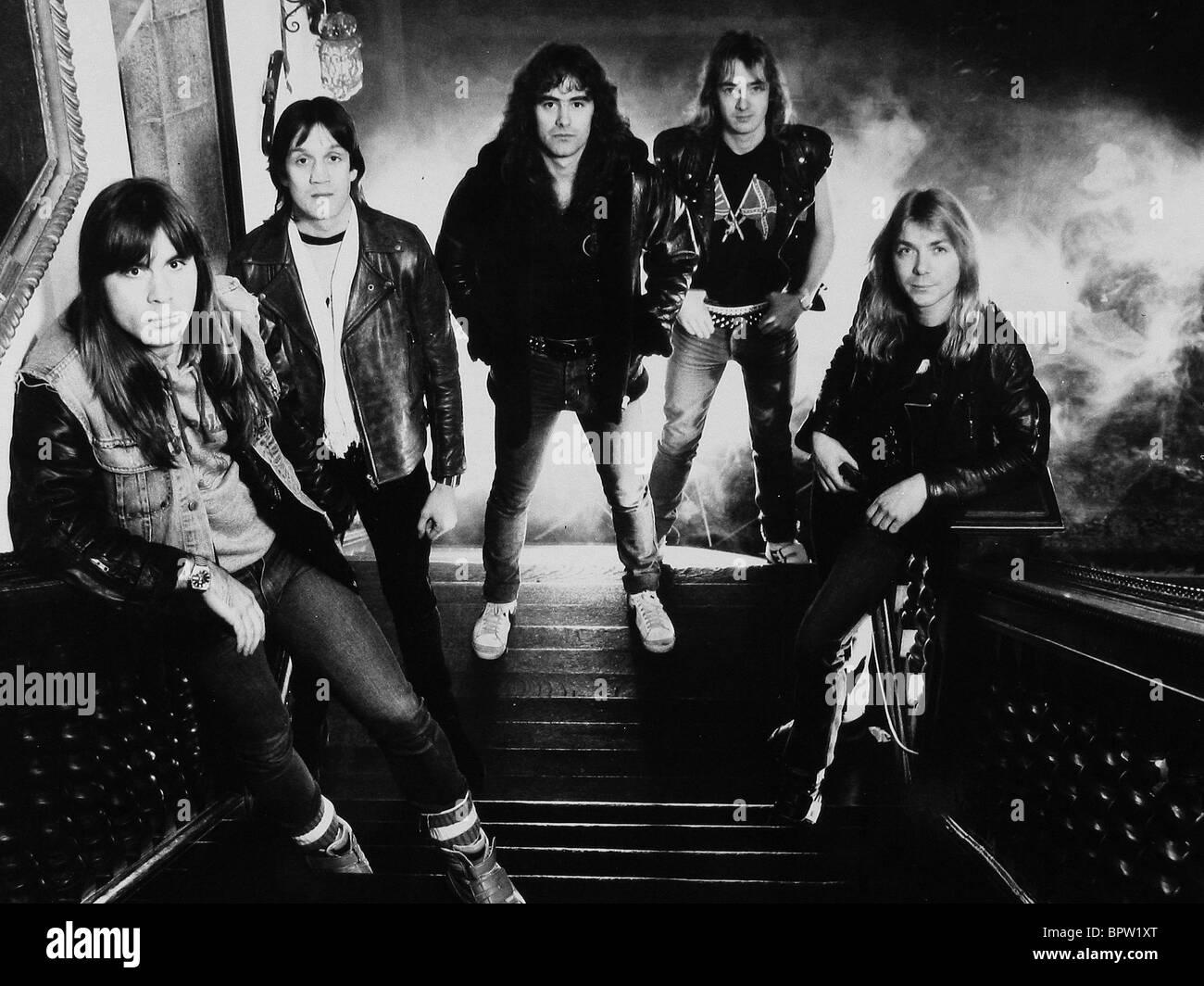 iron maiden iron maiden heavy metal band 1982 stock photo 31283136 alamy. Black Bedroom Furniture Sets. Home Design Ideas