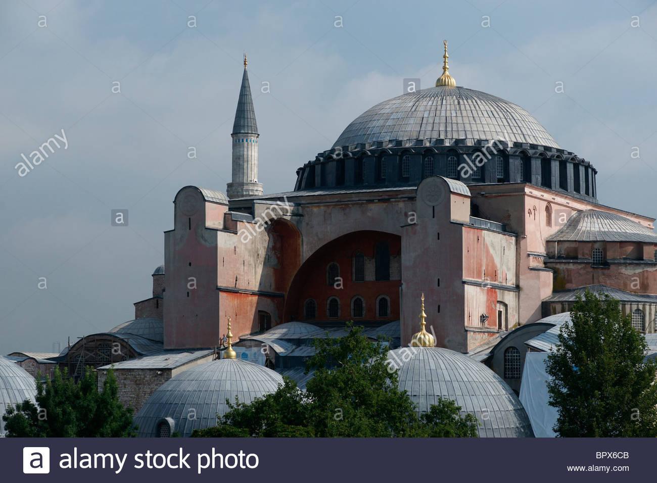 Hagia Sophia Museum - former Mosque Sultanahmet Istanbul ...