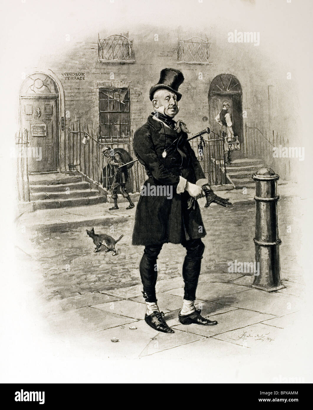 character sketch of mr micawber from david copperfield by charles  character sketch of mr micawber from david copperfield by charles dickens artist frederick barnard
