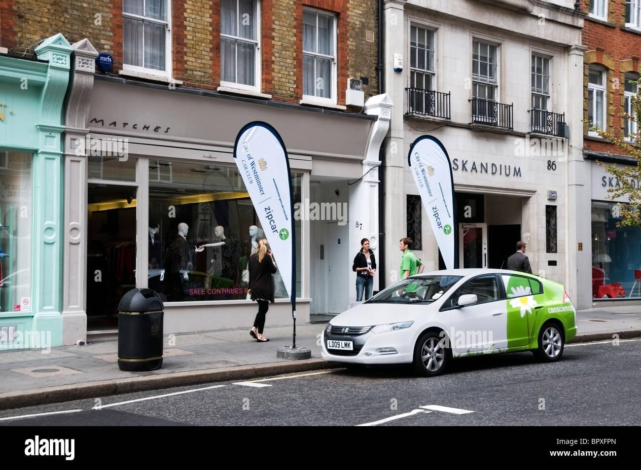 Zipcar advertising