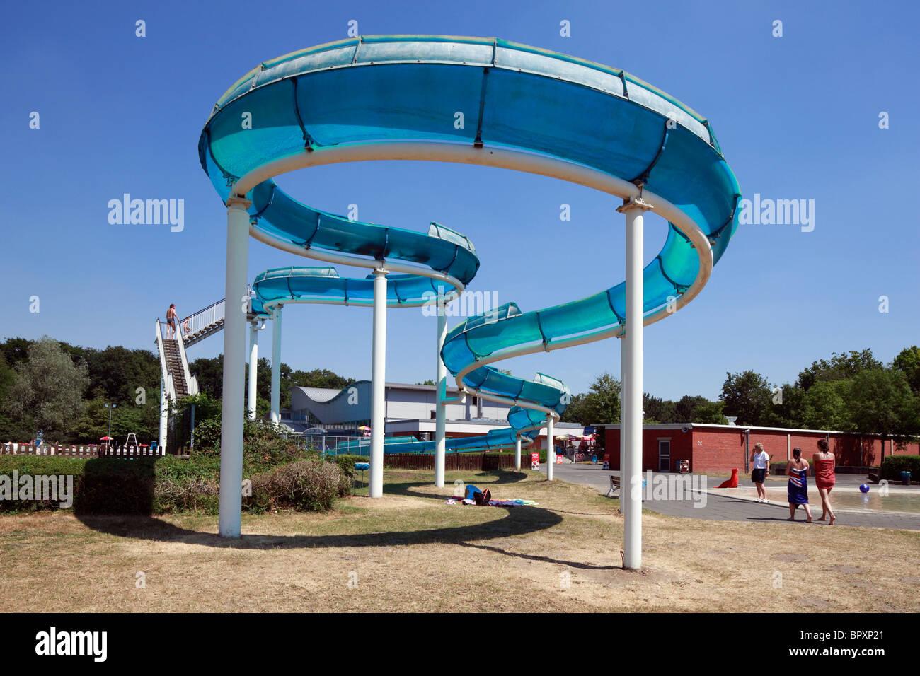 Paffrath Schwimmbad d bergisch gladbach bergisches land rhine westphalia stock