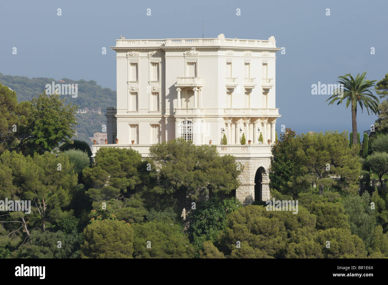 monaco villa la vigie residence of the grimaldi family and karl stock photo 31380578 alamy. Black Bedroom Furniture Sets. Home Design Ideas