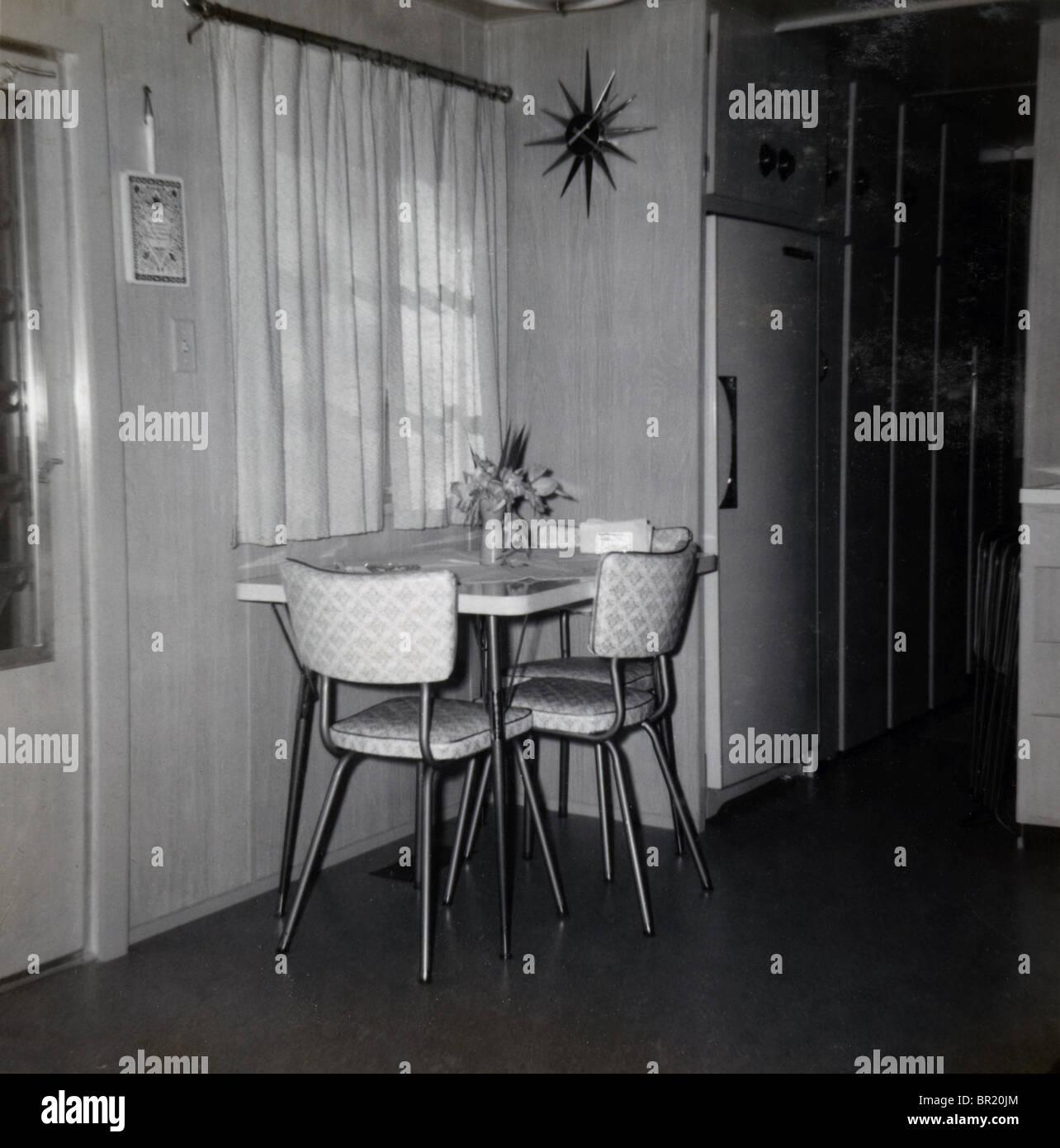 Retro Mod Circa 1964 Kitchenette Dining Area Daytona Beach Florida