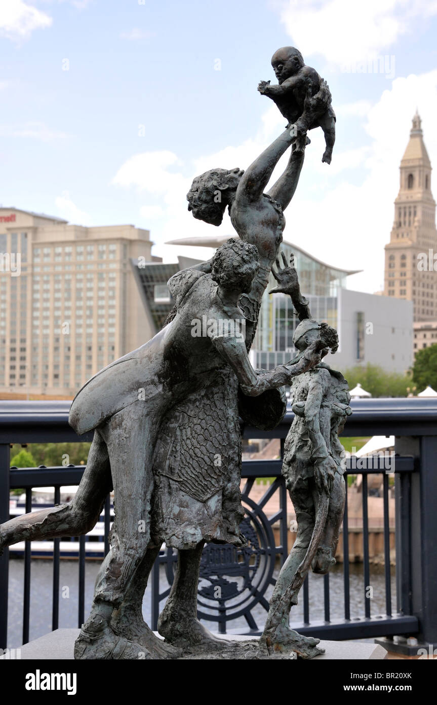 Emancipation By African American Sculptor Preston