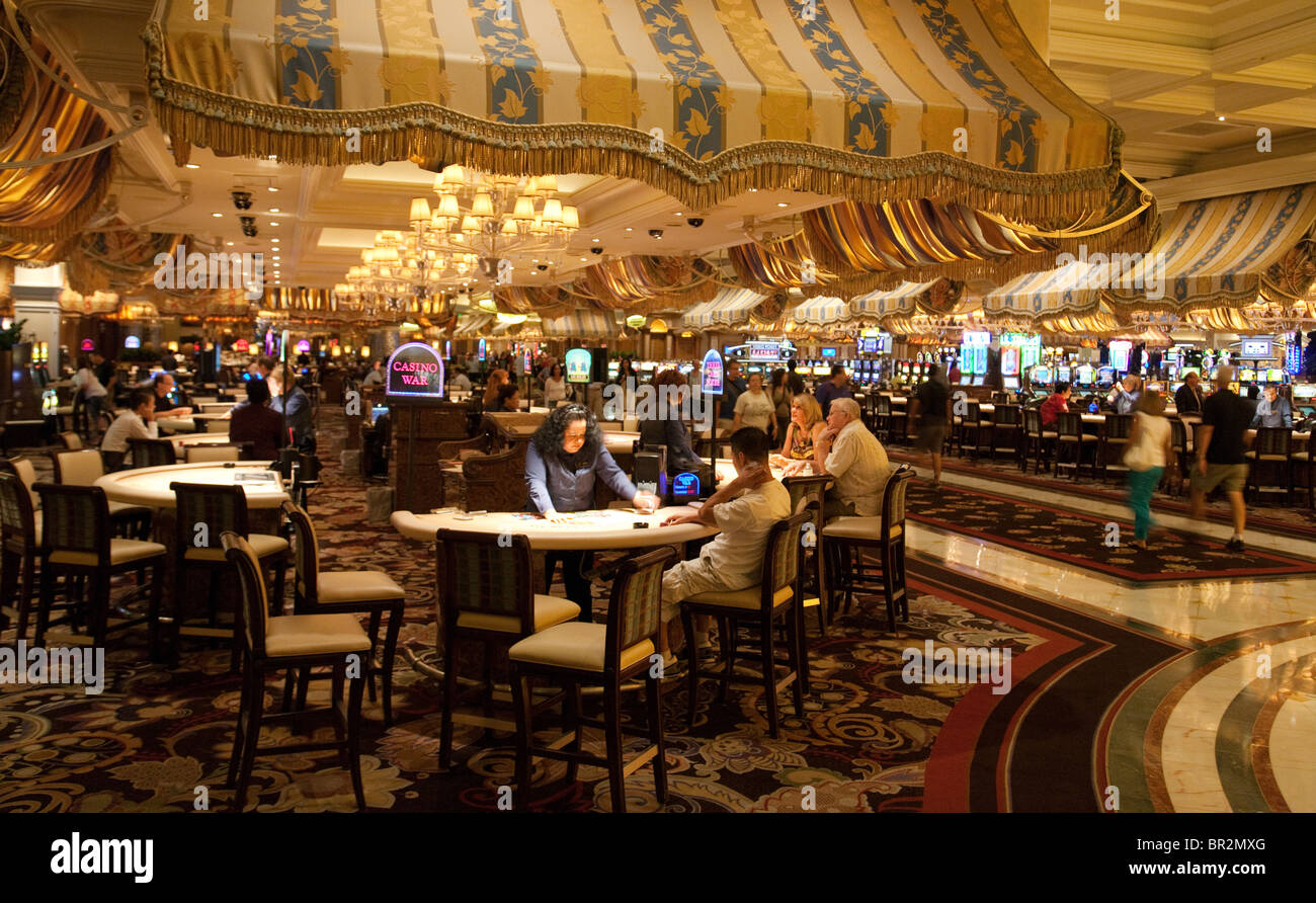 Bellagio las vegas bellagio hotel las vegas - Stock Photo The Casino Interior At The Bellagio Hotel Las Vegas Nevada Usa